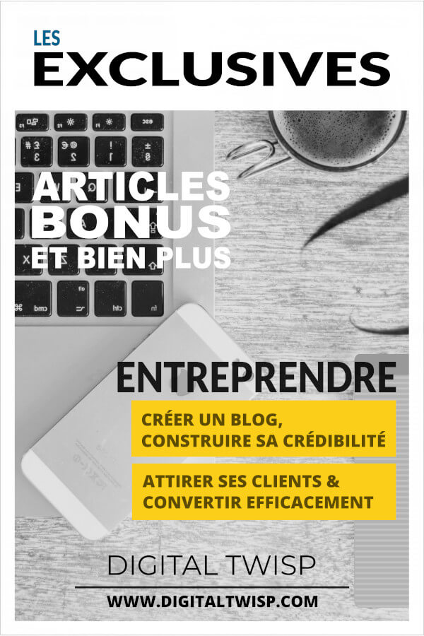 DIGITAL TWISP - Les Exclusives e-publication