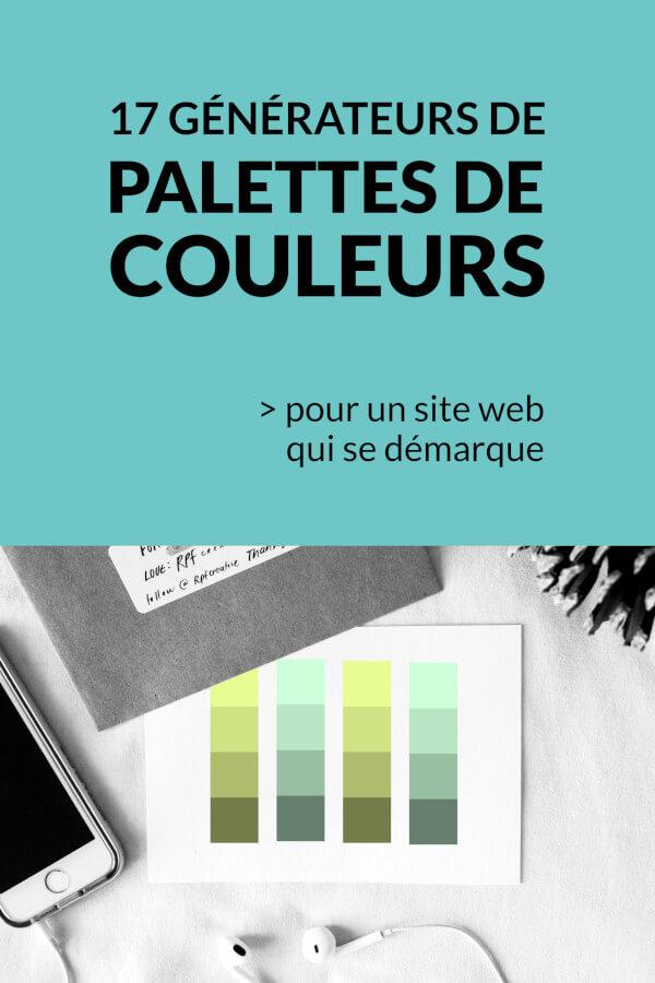 liste de générateurs de palettes de couleurs