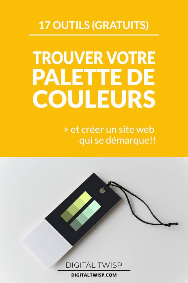 outils générateurs de palettes de couleurs