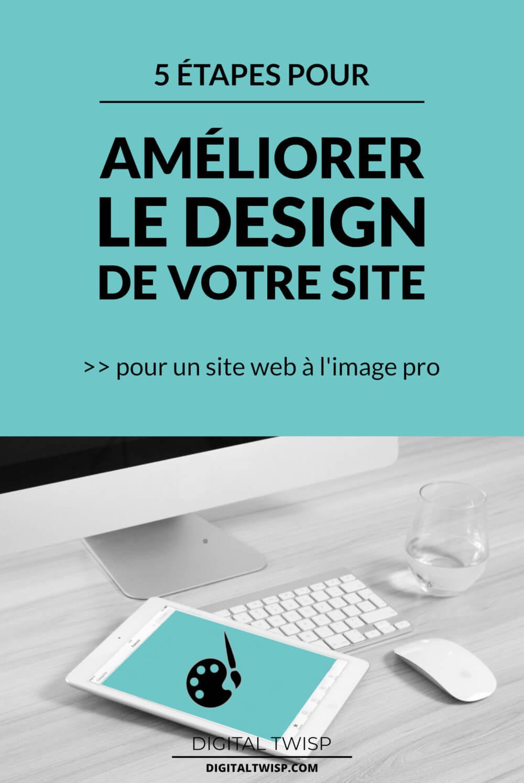 Web design: comment améliorer le design de votre site web